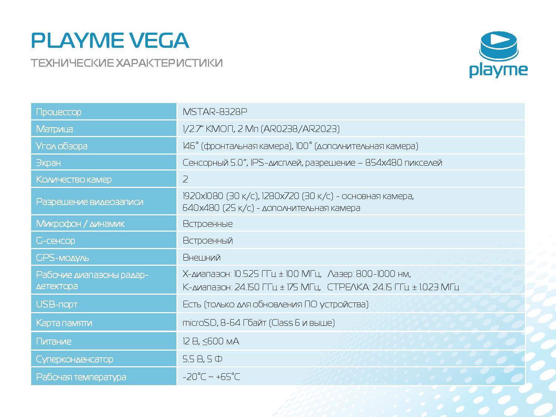 Комбо-устройство 3в1 (Видеорегистратор + радар-детектор + GPS-информатор) PLAYME VEGA touch фото 017